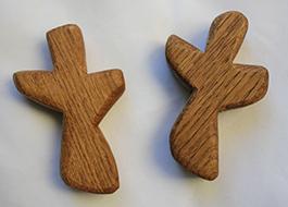 holding cross